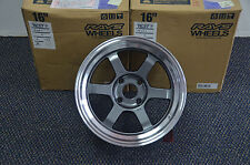 RAYS Engineering TE37V 16X8J 4H 114.3 +0 (Brand new ORIGINAL)