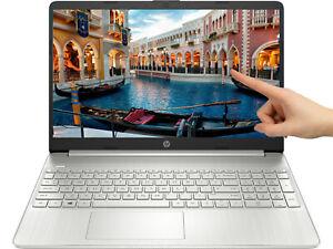 "NEW HP 15.6"" Intel i3-1005G1 🌟 256GB SSD 🌟 8GB RAM Touchscreen Windows 10"