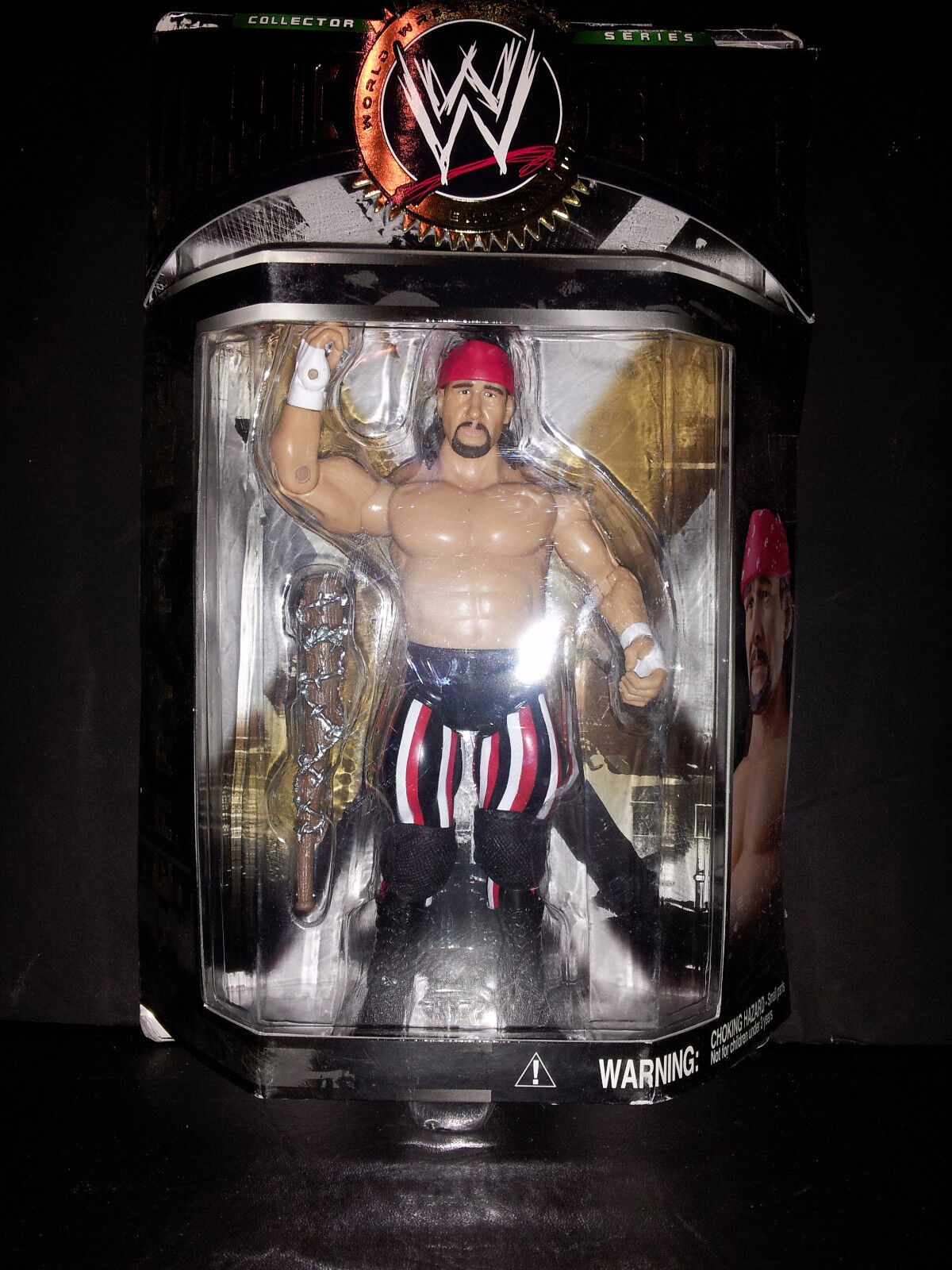 TERRY FUNK WWF WWE CLASSIC SUPERSTARS NIP JAKKS FREE SHIPPING