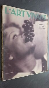 Revista Mensual ARTE VIVO Noviembre 1932 N º 166 ABE