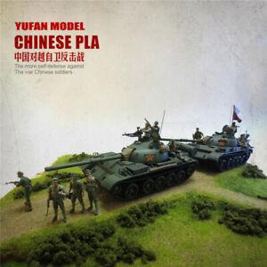 1-35-self-defense-chinoise-PLA-soldat-resin-kits-non-peinte-Figure-yufan-Modele