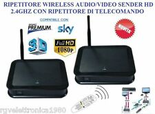 RIPETITORE TRASMETTITORE AUDIO VIDEO E TELECOMANDO HD HDMI 2.4ghz HDMI VIA WIFI
