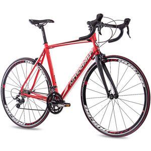 28-034-Zoll-ALU-Rennrad-Fahrrad-CHRISSON-RELOADER-mit-18G-SORA-CARBONGABEL-rot