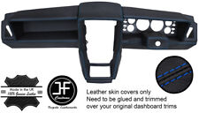 PURPLE STITCHING DASH DASHBOARD LEATHER COVER FITS FIAT 126 CLASSIC