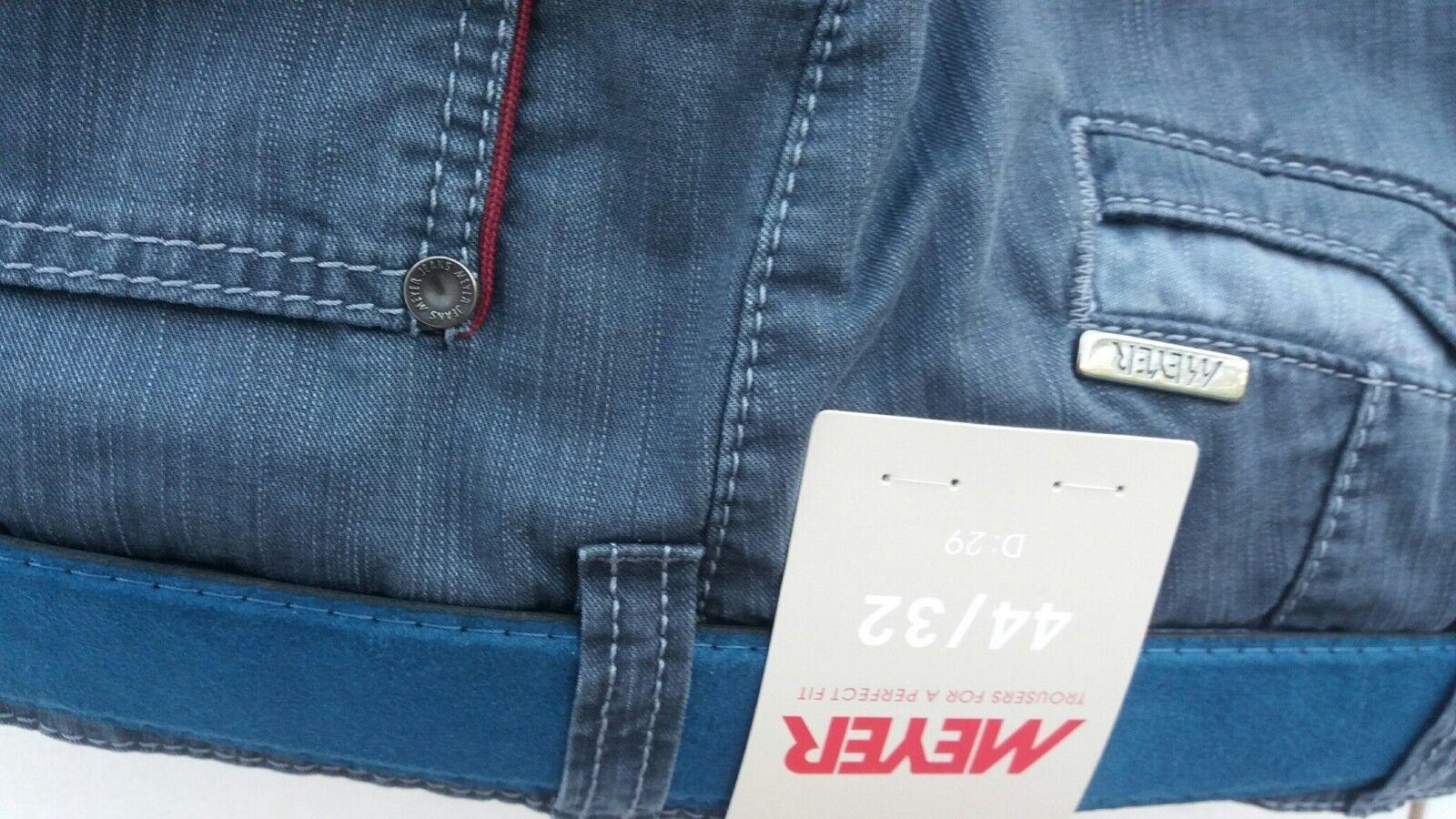 Meyer Blau Diego Hosen 1-5002 107cm44   46     58   50   52   | In hohem Grade geschätzt und weit vertrautes herein und heraus  c6e15f