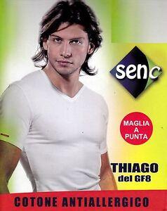 manica corta Uomo scollo V T-shirt SENC Art 15 Cotone Antiallergico Bielastico