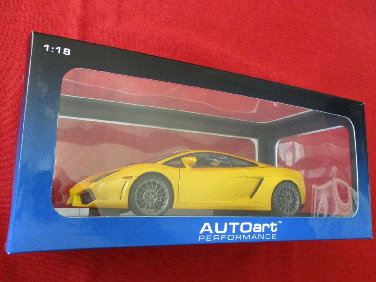 caliente Autoart Autoart Autoart ™ performance 74632 1 18 lamorghini gallardo lp550-2 balboni amarillo  ofreciendo 100%