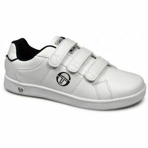 Sergio-Tacchini-Prince-Strap-Juniors-Sizes-3-6-White-RRP-40-Brand-New