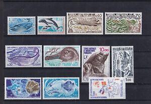 MiNr-113-121-und-124-125-Franz-Geb-i-d-Antarktis-Postfrisch