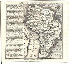 Antique-map-Somersetshire