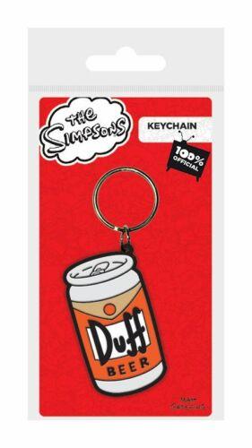 Duff Beer Schlüsselanhänger Keychain Die Simpsons neu