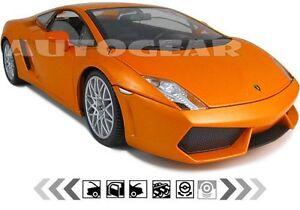 Lamborghini Gallardo Orange 1 18 Mondo Diecast Lp560 4 Ebay