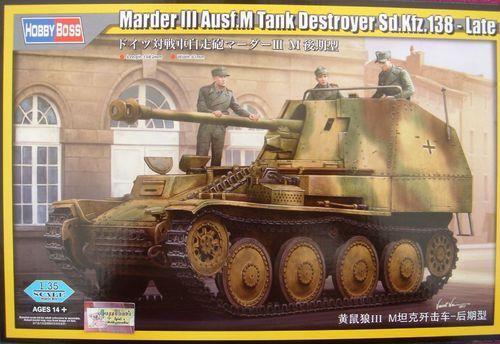 HOBBYBOSS GERMAN MARDER III SD.KFZ.138 1 35 80168
