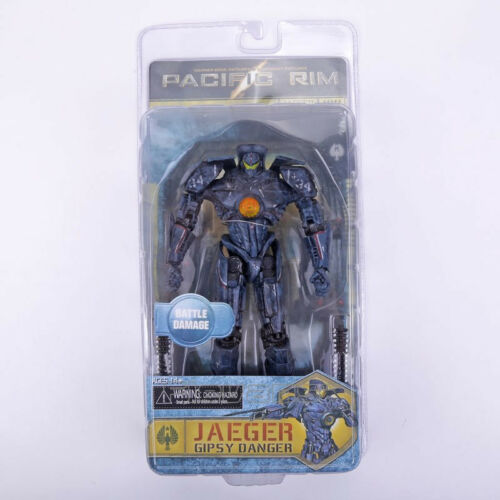 Pacific Rim Jaeger Gipsy Danger Hong Kong Brawl Anchorage Attack PVC Figure Toy