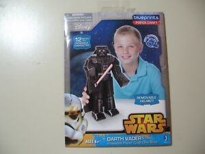 Disney Star Wars NEW Darth Vader Poseable Paper Craft Character
