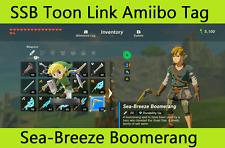 Super Smash Bros Toon Link ������ NFC TAG ONLY Amiibo legend of Zelda