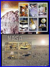 NIUE 2006 ASTRONOMY & SPACE = MARS CONQUEST x2 (two!) M/S SC#813-14 MNH CV$8.50