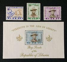 Liberia 1961**  Pfadfinder / Scouts Postfrisch   MNH