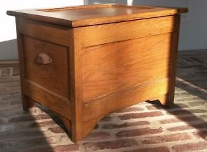 ... Antique Mission Oak Commode Chamber Pot Chair Potty