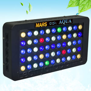 165w led aquarium lampe light voll spektrum aquarium beleuchtung dimmbar coral ebay. Black Bedroom Furniture Sets. Home Design Ideas