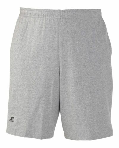 Russell Athletic Men/'s Cotton Performance Baseline Short with Pockets