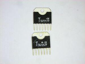 "TA7257P ""Original"" Toshiba 7P SIP IC 2 pcs"