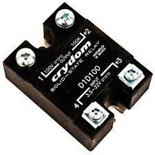 Crydom D1d100 Panel Mount Input 35 32v Output 100v 100a Solid State Relay Ssr