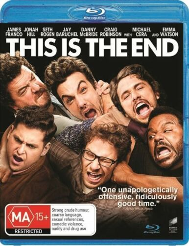 1 of 1 - This Is The End (Blu-ray, 2013) New