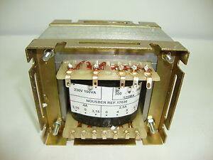 TRANSFORMADOR DE RADIO ANTIGUA 300-0-300V 125VA PARA 8 VALVULAS. R10-17036  ..2