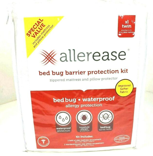 New - Allerease XL Twin Zippered Bedbug Mattress ...