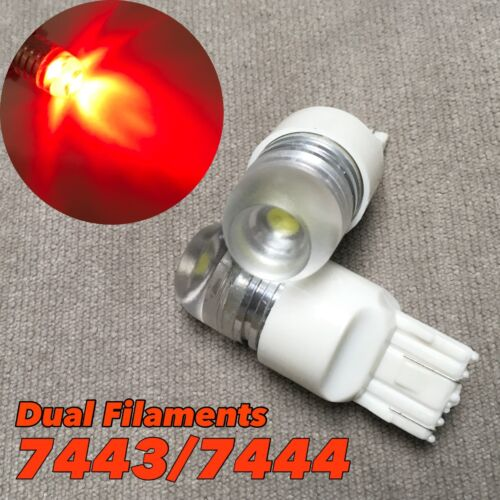 Brake Light Red 5W SMD LED Bulb T20 7443 7444 WY21W W1 For Acura Honda JAE
