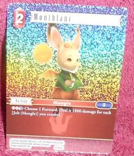 FINAL FANTASY  TCG OPUS 2 - MONTBLANC  FOIL CARD 2-021C - COMMON
