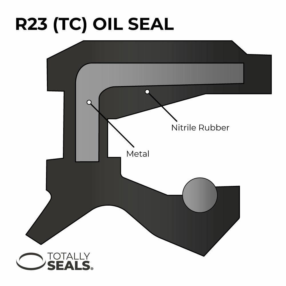 32MM X 52MM X 8MM TC VITON METRIC OIL SEAL FACTORY NEW!