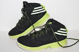 Adidas-Mad-Handle-Basketball-Shoes-G98423-Black-Lime-White-Youth-US-5-Youth
