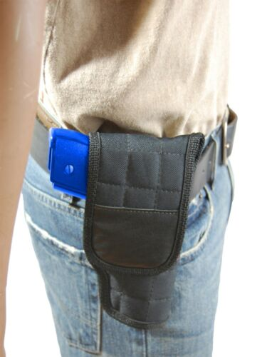 New Barsony OWB Flap Gun Belt Holster for Kel-Tec Kimber Sccy Compact 9mm 40 45