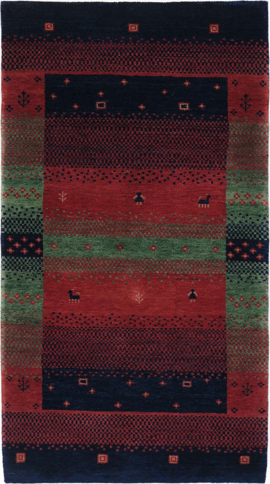 Gabbeh Tappeto Rug Carpet parte di Tapis tapijt Tappeto Alfombra Orient Persiani GASHGAI