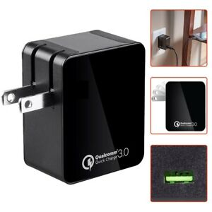 1-Port-USB-Wall-Charger-Adapter-Android-iOS-Tablet-w-Qualcomm-Quick-Charge-3-0