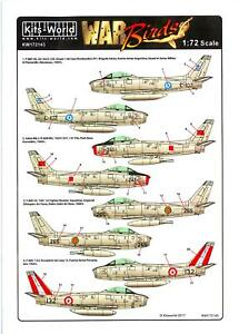 Kits-World-Decals-1-72-NORTH-AMERICAN-F-86F-SABRE-in-Foreign-Service