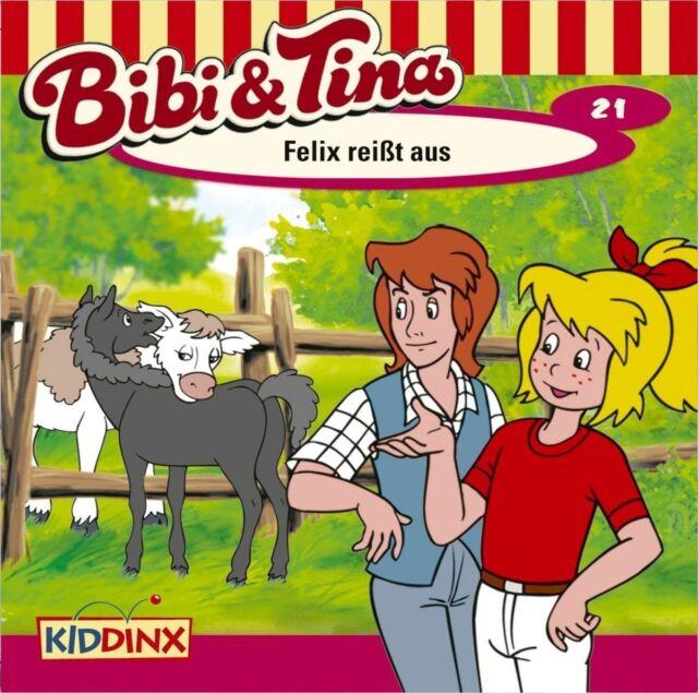 CD * BIBI & TINA - HÖRSPIEL 21 - FELIX REISST AUS # NEU OVP KX