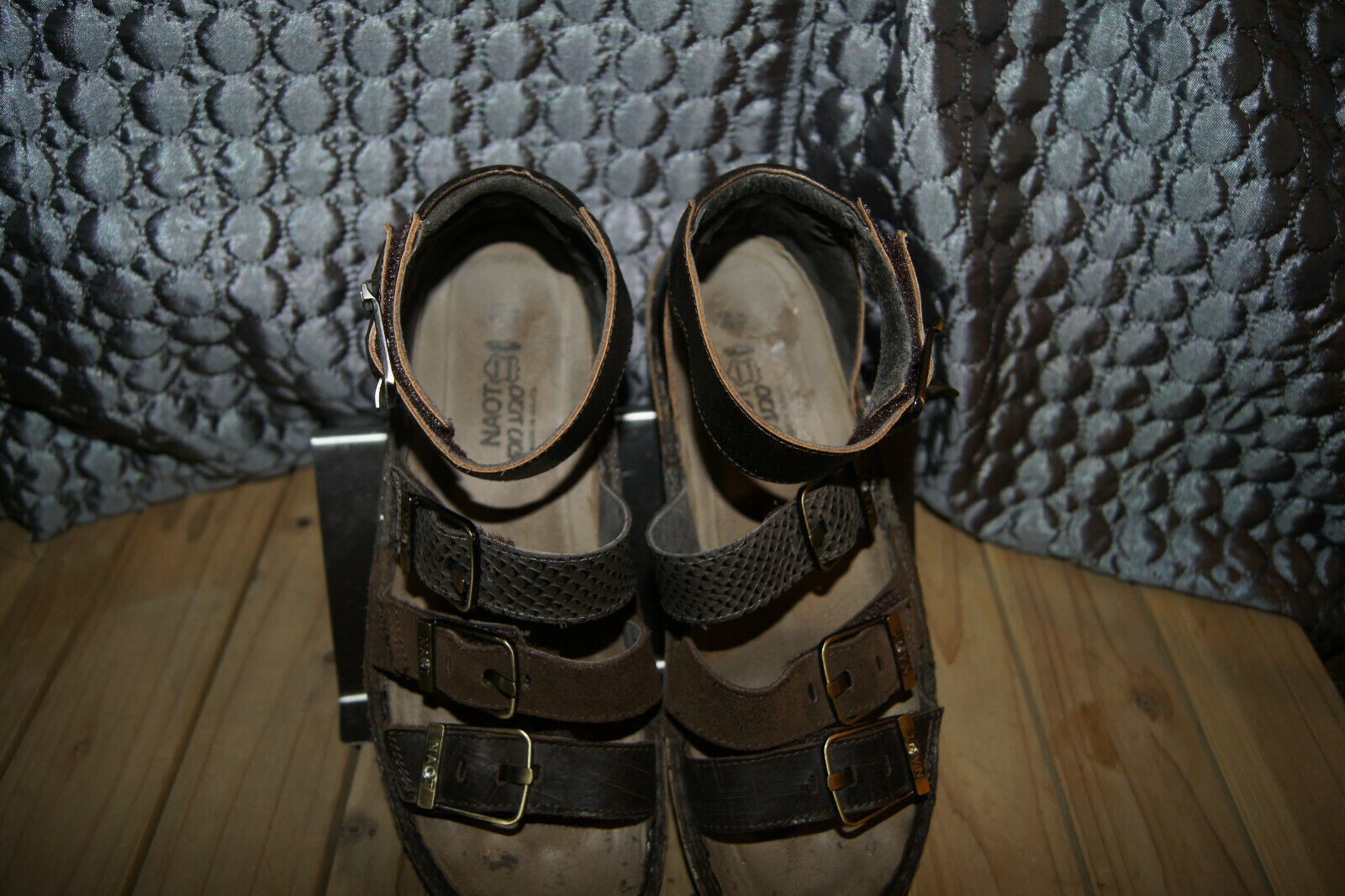 Naot SHOES 8 leather SANDALS 8 Size 39 (8) Comfor… - image 3