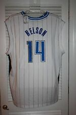 Adidas Orlando Magic Authentic NBA Jersey, Jameer Nelson,  Autographed, #14 COA