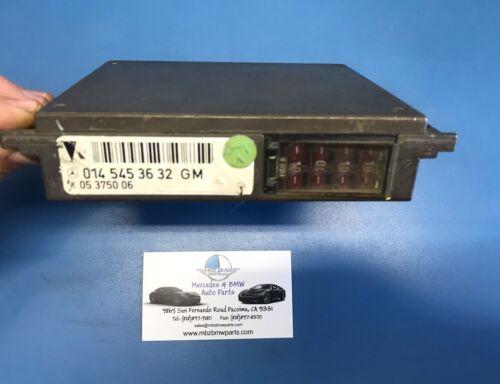 1992-1995 Mercedes S-Class General Diagnostic Control OEM Part #0145453632