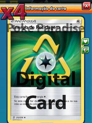 ptcgo DIGITAL CARD!!! 4x Tag Switch 209//236 jeu POKEMON TRADING CARD GAME EN LIGNE!!