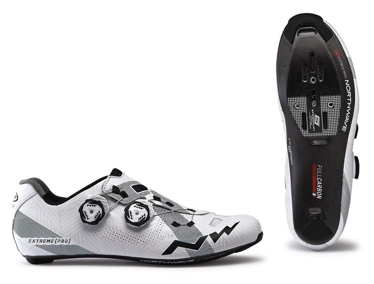 Northwave Extreme Pro bicicleta bicicleta zapatos blancoo negro 2019