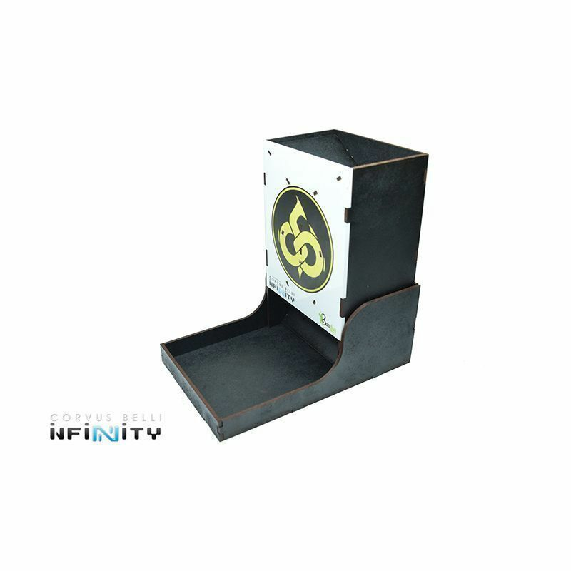 Bandua Wargames Infinity Dice Tower Imperial Service Dice Tower Cube Tower