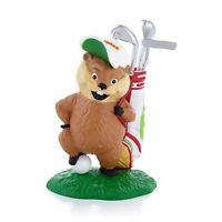 Gopher's Got Game - 2013 Hallmark Caddyshack Ornament - Golf Clubs Ball Movie