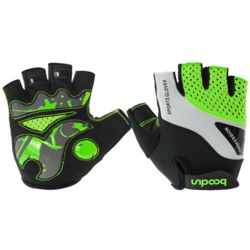 Cycling Gloves Mountain Bike Padded Shock-absorbing Anti Slip MTB Road Bicycle