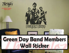 Green Day Music Band Group Vinyl Wall Sticker