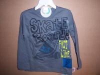 Gerber Graduates Boy's Shirt, Long Sleeve, Skate Boarder