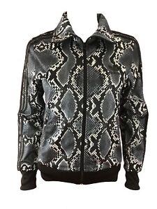 Details about Adidas Originals Firebird Snake Print Womens Track Top Jacket